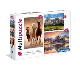 Clementoni Puzzle Mix 1x500 + 2x1000 el.  (08107)