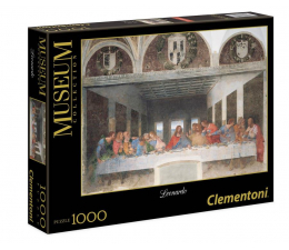Clementoni Puzzle Museum Leonardo - Cenacolo (31447)