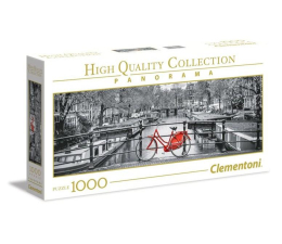 Clementoni Puzzle Panorama HQ  Amsterdam Bicycle (39440)