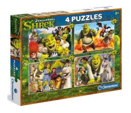 Clementoni Puzzle Shrek 2x20 + 2x60 el. (07609)