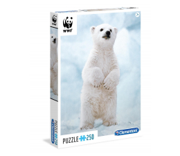 Clementoni Puzzle WWF Baby Polar Bear (29744)