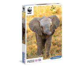 Clementoni Puzzle WWF Little Elephant (27999)
