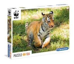 Clementoni Puzzle WWF Tiger puppy (27998)