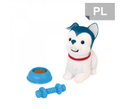 Cobi Little Live Pets piesek w koszyku niebieski (28176)