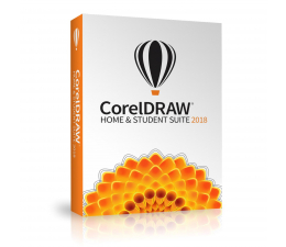 Corel CorelDRAW Graphics Suite Home & Student 2018 PL  (CDHS2018CZPLMB)