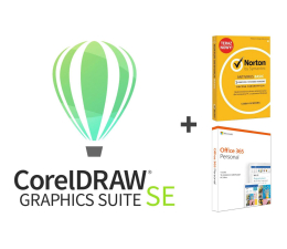 Corel Graphic Suite SE 2019 + Office 365 + Norton (CDGSSE2019CZPLMBEU+zestaw)