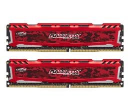 Crucial 16GB 2400MHz Ballistix Sport LT Red CL16 (2x8192) (BLS2C8G4D240FSE)