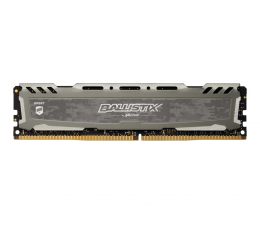Crucial 16GB 3000MHz Ballistix Sport LT Gray CL16 (BLS16G4D30BESB)