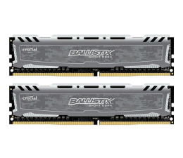 Crucial 8GB 2666MHz Ballistix Sport Grey CL16 (2x4GB) (BLS2C4G4D26BFSB)