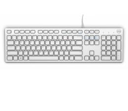 Dell KB216-B QuietKey USB (biała) (580-ADGM)