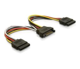 Delock Adapter SATA - 2x SATA 15cm (60105)