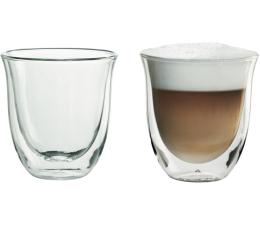 DeLonghi Szklanki do cappuccino zestaw 2 sztuki  (2 GLASS CAPP. 190ML)