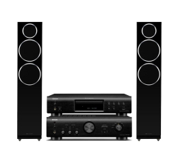 Denon PMA-720AE DCD-720AE Diamond 230 2.0 blackwood