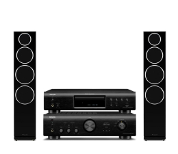 Denon PMA-720AE DCD-720AE Diamond 240 2.0 blackwood