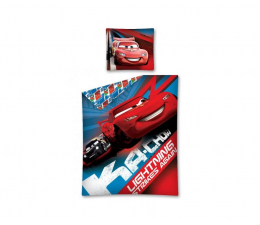 Detexpol Cars Auta Pościel 140x200 (5901685609357/ Cars 05)