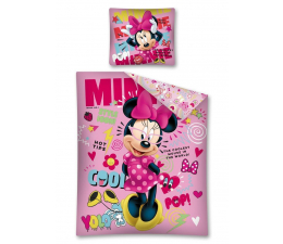 Detexpol Disney Różowa Minnie Pościel 160x200 (STC 19 DC)