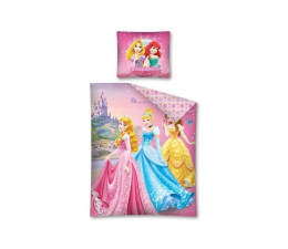 Detexpol Princess Księżniczki Pościel 160x200 ( 5901685602396 / PRI 01)