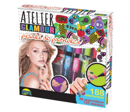 Dromader Atelier Glamour Pisaki do paznokci (5900360008621)