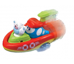 Dumel Nakręcona Łódka Pływam i Jeżdżę Miś Polarny (DD 43250 MIŚ POLARNY)