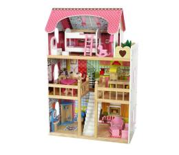 ECOTOYS Domek dla lalek Rezydencja Malinowa (4109)