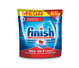 Finish Tabletki do zmywarki All-in-1 Max 85 regularne (5900627073256)