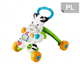 Fisher-Price Interaktywny chodzik Zebra (DPL53)