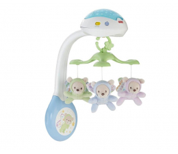 Fisher-Price Karuzela z misiami  (CDN41)
