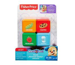 Fisher-Price Klocki Pierwsze Słówka Jedzenie (FJG26 FJP29)