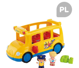 Fisher-Price Little People Wesoły Autobus (CBL55)