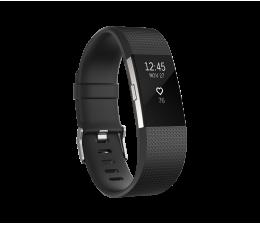 Fitbit Charge 2 HR L Black-Silver (IMFBC2LBK/816137020244)