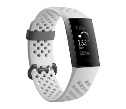 Fitbit Charge 3 Special Edition Grafitowo - Biały (811138031008)