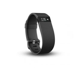FitBit Charge HR monitor aktywności, snu i pulsu L czarny (IMAFBCHRLBK)