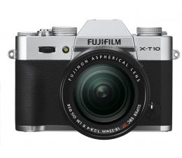 Fujifilm X-T10 + XF 18-55 mm f/2.8-4.0 srebrny