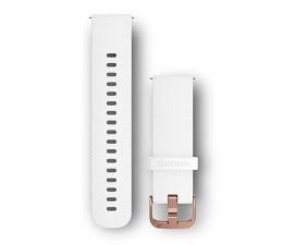 Garmin Pasek silikonowy biały do koperty 20mm (010-12691-00)