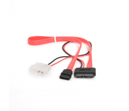Gembird Kabel SATA 7-pin - SATA + Molex 35cm ( CC-SATA-C2)