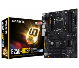 Gigabyte GA-B250-HD3P (3xPCI-E DDR4 USB3.1/M.2)