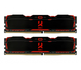 GOODRAM 16GB 3000MHz IRDM X CL16 (2x8GB) Black (IR-X3000D464L16S/16GDC)