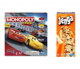Hasbro Jenga + Monopoly Junior Auta