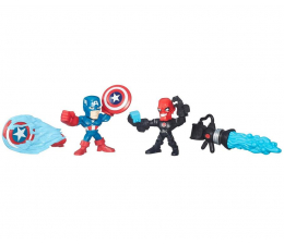 Hasbro Micro Hero Mashers Kapitan Ameryka vs Iron Skull (B6689)