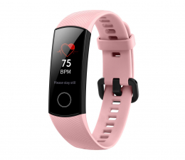 Honor Band 4 różowy  (Crius-B19 Coral Pink)