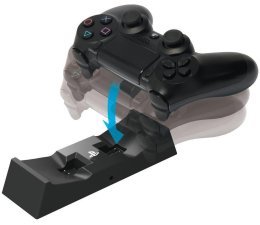 Hori Dual Drop And Charge - Ładowarka PS4 (4961818022423)