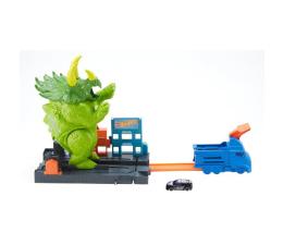 Hot Wheels City Zestaw Starcie Z Triceratopsem (GBF97)