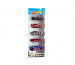 Hot Wheels Justice League pięciopak (1806 FKT50)