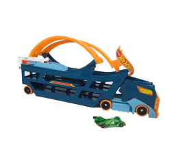 Hot Wheels Transporter z pętlą i autkiem (DWN56)