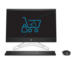 HP 24 AiO i3-8130/8GB/480 IPS Black  (24-f0037nw (6ZJ15EA)-480 SSD )