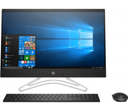 HP 24 AiO i3-8130U/8GB/240/Win10 IPS MX110  (24-f0018nw (5QZ57EA)-Black-240 SSD )