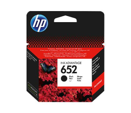HP 652 F6V25AE black 360str. (DeskJet 1115/2135/3635/3835/4535/4675)