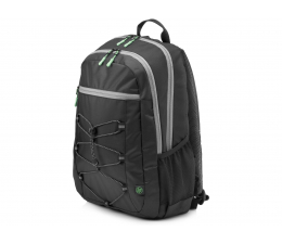 "HP Active Backpack 15,6"" (czarno-zielony) (1LU22AA)"