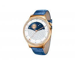 Huawei Lady Watch Golden+Blue leather+Swarovski cristals (55021295)