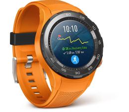 Huawei Watch 2 Sport LTE pomarańczowy  (LEO-L09S LEO-DLXX DYNAMIC ORANGE SPORT STRAP)